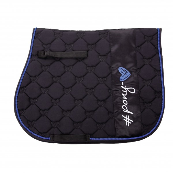 Quilted saddle cloth ''ponylove''