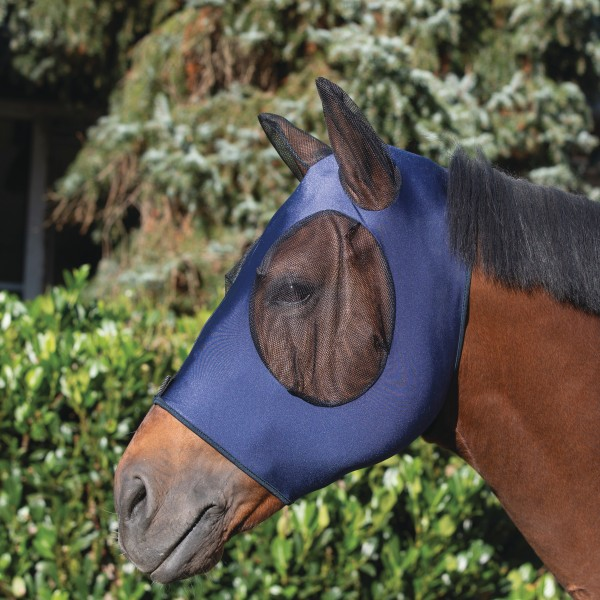Fly mask with ear protector
