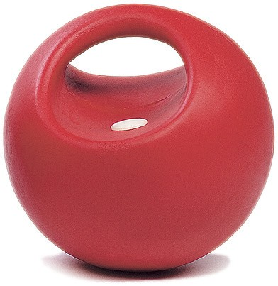 Spielball, rot mit Griff, robust