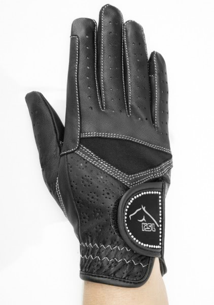 CARDIFF STAR Riding glove made of goat leather