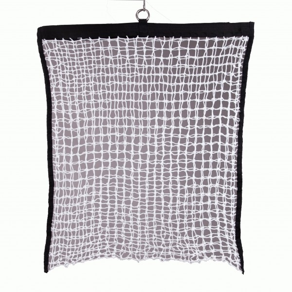 Hay net - with filling aid