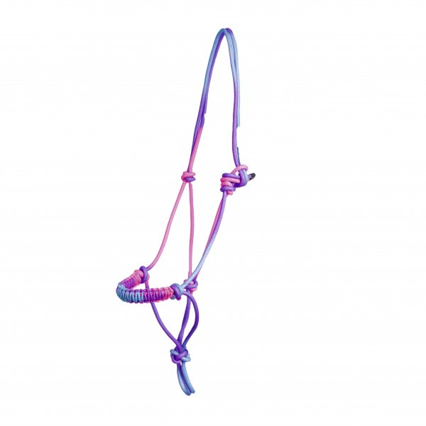 """Knotted Rope Halter """"Unicorn"""""""