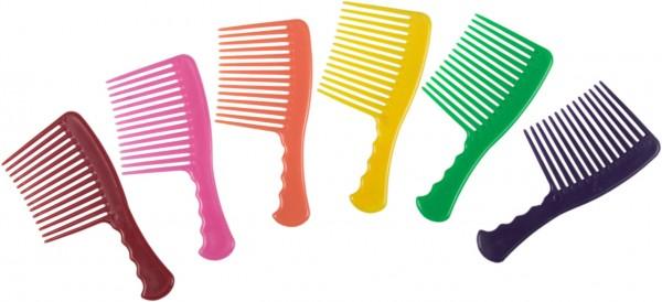 Mähnenkamm, farblich sortiert.
