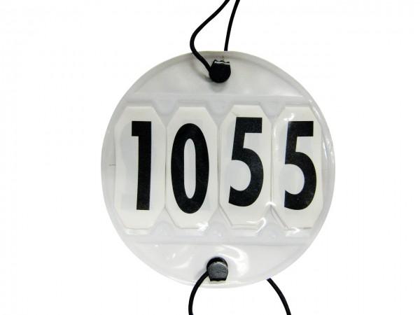 Horse starting number, 4-digit