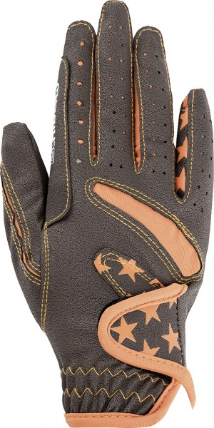 LUCA Children's riding gloves, two-tone col.