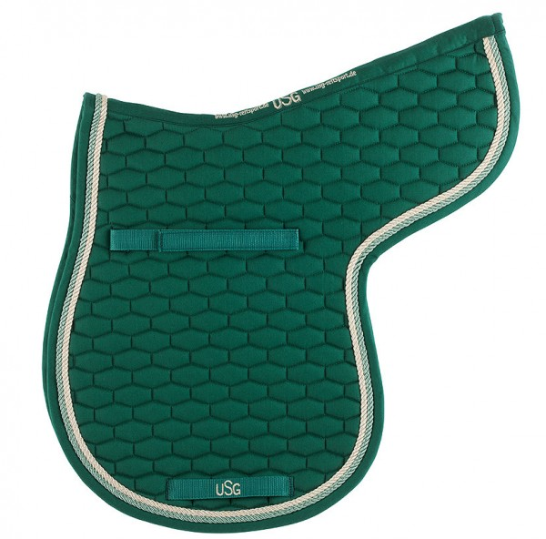 Quillted saddle cloth