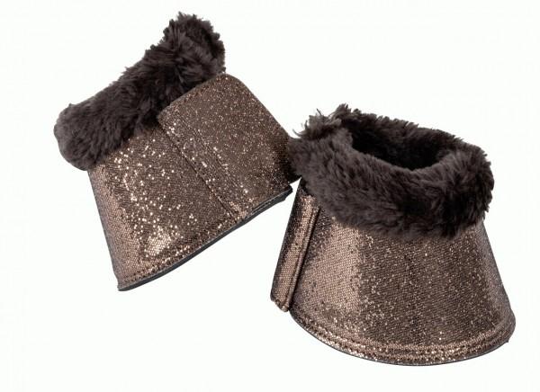 Glitter Bell boots with breathopree/art-fur lining