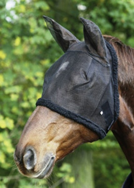 Fly mask, with ear-protector