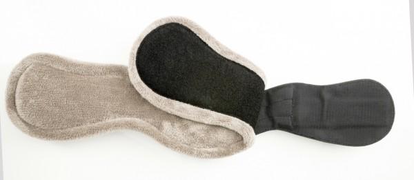 Tekna short girth with removable fleece