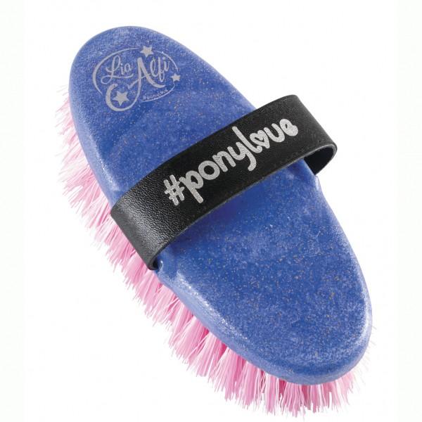 Ponylove brush, pink/white col. bristles