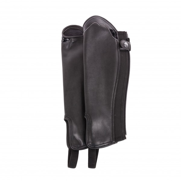 """Leather-Mini-Chaps """"San Giovanni"""" for Adults"""