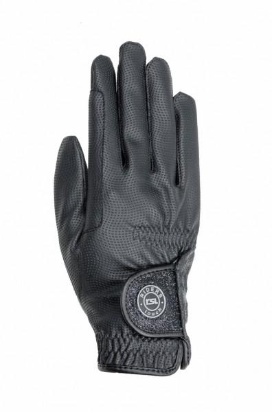 Sydney Riding Glove with glitter closure
