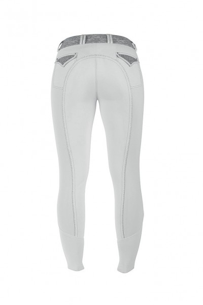 """Ladies breeches """"Julietta"""", full patch, with lace"""