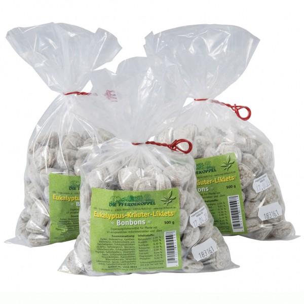 Eucalyptus-Herb-Liklets Bonbons 500 g